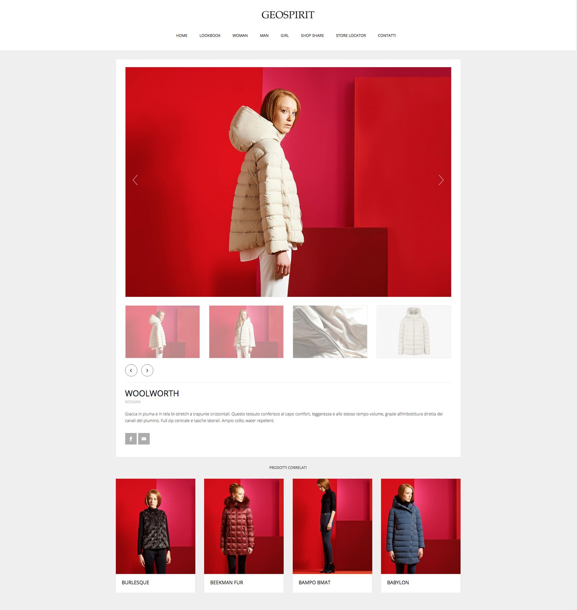geospirit sito web collezione