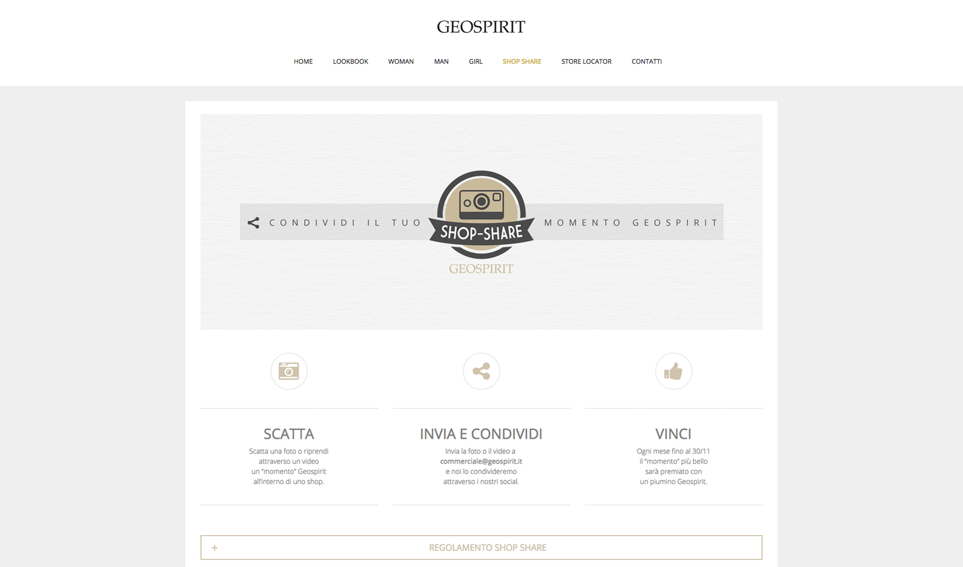 geospirit sito web shopshare
