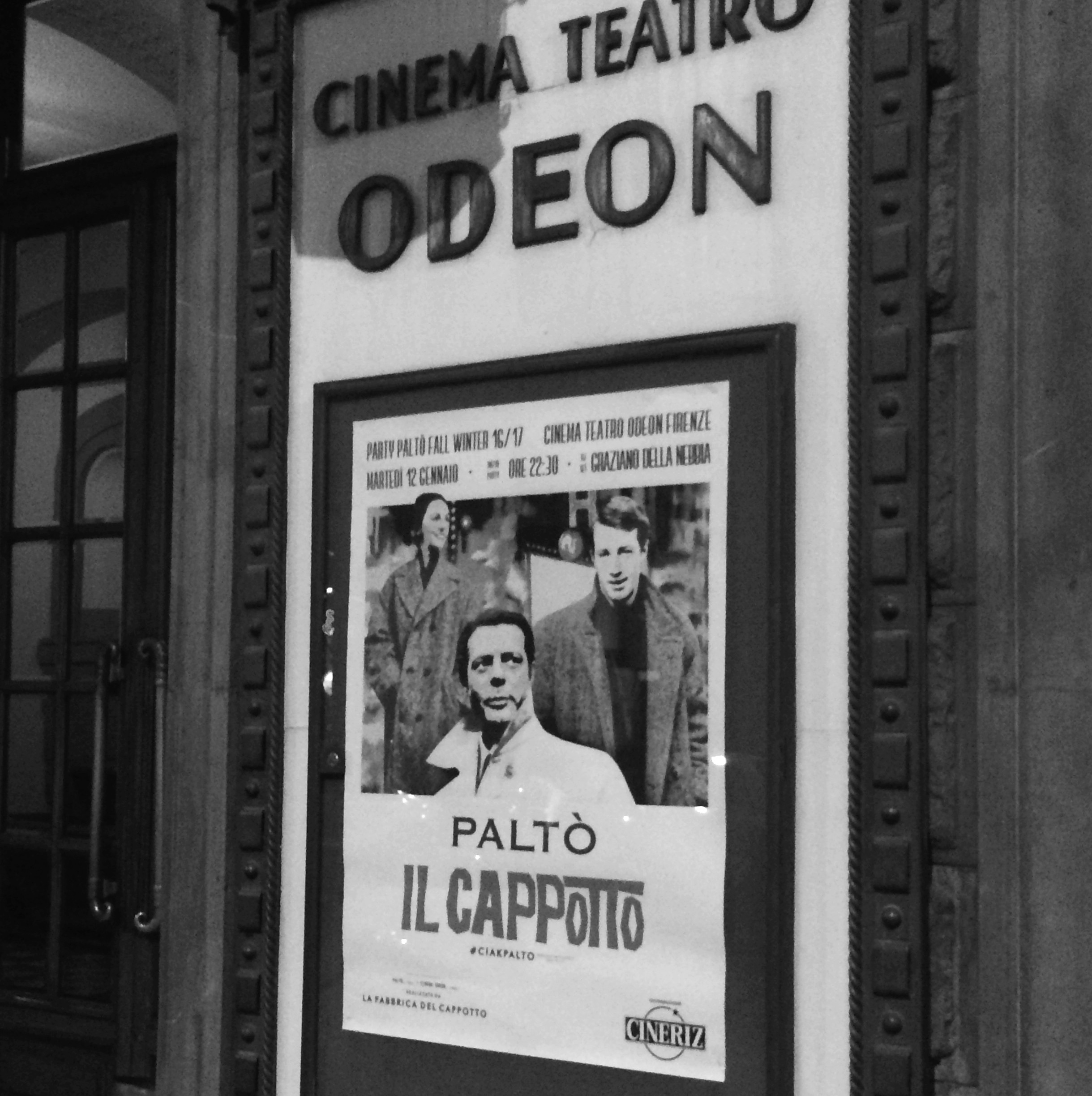 paltò il cappotto cinema teatro odeon firenze